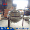 500 Liter Steam Jacketed Cooking Kettle with Pressure