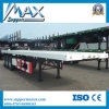 New 40FT Self Loading Container Trailer Price and 20FT Flatbed Container Dolly Semi Trailer with