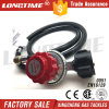 High Pressure Adjustable LPG Gas Pressure Regulator with Hose