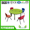 Kid Furniture Wooden Round Kids Study Table for Sale (SF-12C)