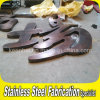Large Laser Cutting Welding PVD Color Coated Mirror Stainless Steel Letter Sign