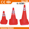 Red ABS Plastic Folding Traffic Safety Cone (RTC-45)