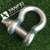 Electrical Galvanized European Type Large Bow Shackle