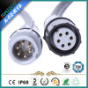 Circular Waterproof Cable Connector/Plug CE Certified