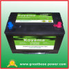 DIN80 Battery Automotive Battery with 17plates 12ah 80ah Battery