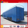Auto Vehicle Transporter Enclosed Car Carrier Trailer with Air Suspension