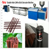 Double Hole Coffee Stirrer Stick Extrusion Machine