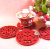 Wedding Decoration Wool Felt Cup Mat Coaster
