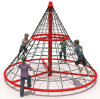 Kids Outdoor Rope Climbing Structure&Climbing Walls for Sale