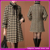 Latest Designer Slim Long Winter Fashion Wool Trench Coat Women 2014