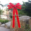 Handmade Red Christmas LED Gift Bow
