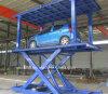 Hot Sale CE Double Deck Scissor Car Platform Auto Lift