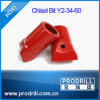 Chisel Bits for Rock Hole Drilling Working (1.5inch)