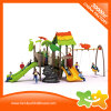 Nature Theme Kids Playground Toys Amusement Park Equipment Slides with Swings