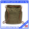 Unisex Canvas Leisure Backpack for School