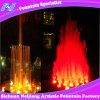 Villa Dancing Dry Fountain Nozzle with Colorful LED Lighting Outdoor Park Fountain
