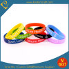 Hot Sale Printing Logo Silicone Wristband & Bracelet From China