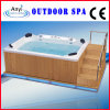 SPA Bathtub with Ladder, 4 Seats Massage Bathtub (AT 9007)