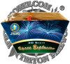 Space Explosion 30 Shots Fan Cake Fireworks