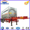 20FT Csc 3 Axle Crude Oil/Diesel/Petrol Tank Semi Trailer Tank Container