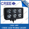 60W CREE LED Work Lights Lamp with Square Housing