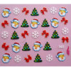 Supply OEM 3D Christmas Nail Sticker