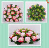 Fabric Artificial Flowers for Home and Wedding Decoration