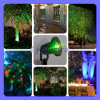 Outdoor Lighting Waterproof Firefly Effect Laser Projector Landscape Laser Light Green Red for Christmas Trees Lawn Garden Park Decoration LED