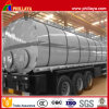 Bitumen Tanker Trailer Asphalt Heating Tank with Volume Optional