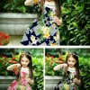 Light Weight 45s Printed Rayon Fabric for Girls Dress