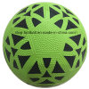Size 5 Pebble Surface Rubber Football