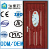 Export Standard Elegent Style New Exterior Security Steel Door