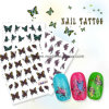 Nail Tattoo, Nail Sticker, Tattoo Sticker