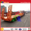 Customized Gooseneck Type Bulk Cargo Transport Lowbed Truck Semi Trailer
