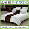 600tc White 100% Cotton Stripe Hotel Queen Bed Linen