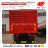 4mm Checkered Plate Side Wall Drop Semi Trailer for Sale