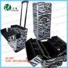 Zebra Makeup Trolley Cosmetic Beauty Cases (HX-L008)
