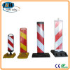 Durable Traffic Barrier with Recycling Rubber Base