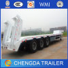 Tri-Axles Heavy Duty 50tons Gooseneck Trailers Lowbed for Sale