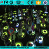 Round LED Dynamic Interactive Stage Dance Floor Light