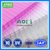 UV-Protected Clear Hollow Polycarbonate Sheet