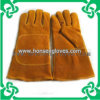 Cow Split Leather Welding Gloves for Working