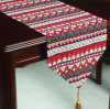 Faux Linen Table Runner Decorative Table Flag (ETR-02)