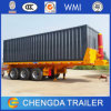 40ftcontainer Tipper Trailer 3axle Tipping Container Semi Trailer for Sale