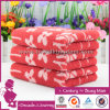 100% Cotton Towel Rose Pattern Face Towels