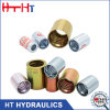 CNC Machine R1 R2 R4 R13 Hydraulic Rubber Hose Fitting Steel Hydraulic Hose Ferrule