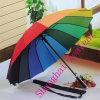 High Quality New Design 24 Ribs Rainbow Golf Umbrella