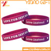 Printed Logo Silicone Wristband for Promotional Gift