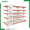 Supermarket Double Sided Grocery Store Gondola Shelves