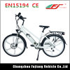 7 Speed Eco-Friendly Lady Electric Bike with Carrier